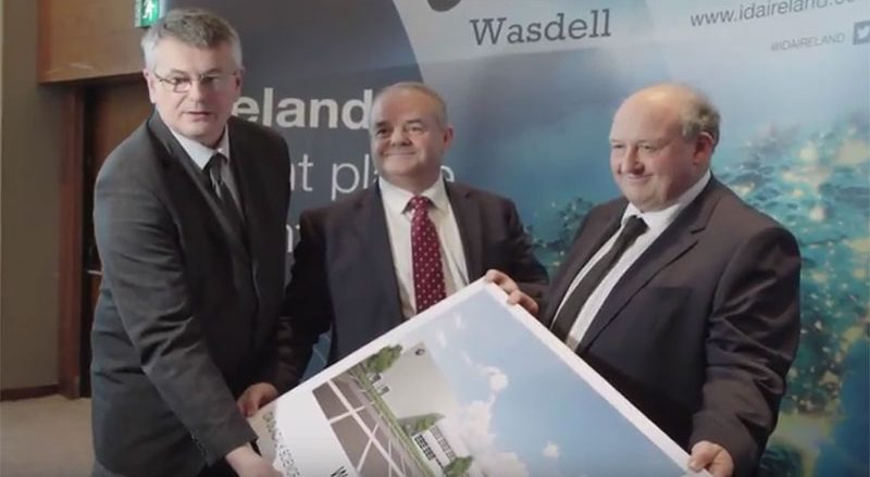 Wadell in Dundalk announcement